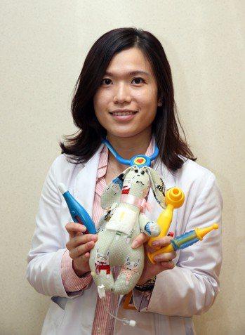 兒童醫療輔導師黃琦雅希望未來進駐南部醫院,替住院的急重症孩童服務,讓他們不再害怕...