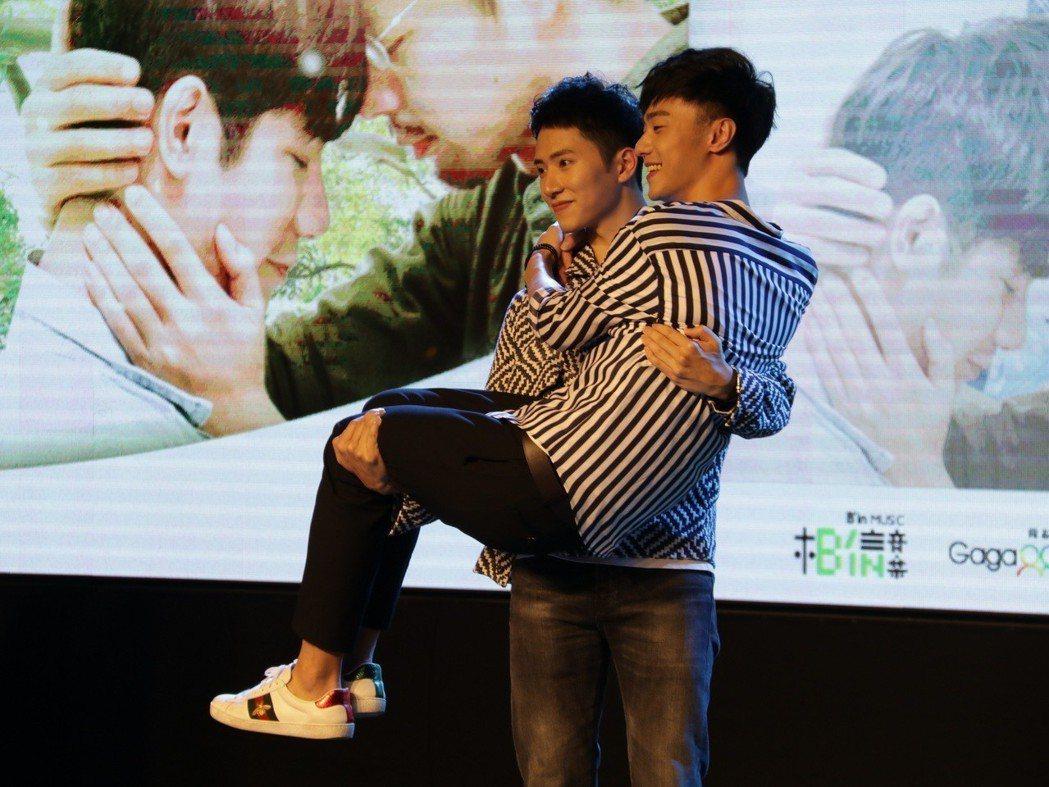 「越界」14日舉辦粉絲見面會。圖/choco TV提供