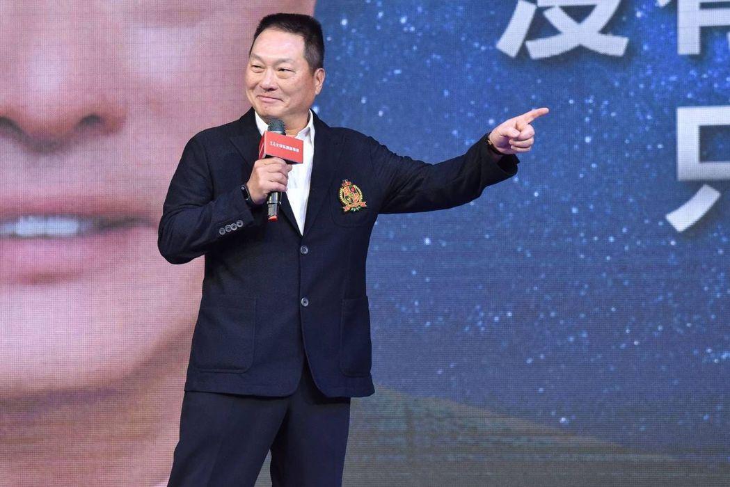 東森集團總裁王令麟在東森新連鎖事業開幕啟動大會宣示,將以值得信賴的東森品牌,帶領...