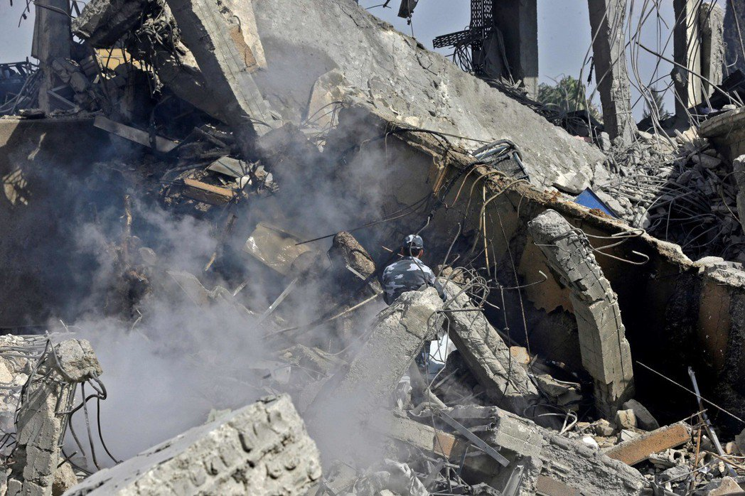 敘利亞。 法新社