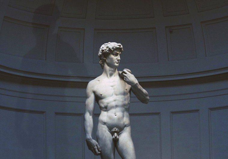 《大衛像》的知名度不再侷限在藝術愛好者之中,幾乎是全人類共知的人體圖像。 圖/路...