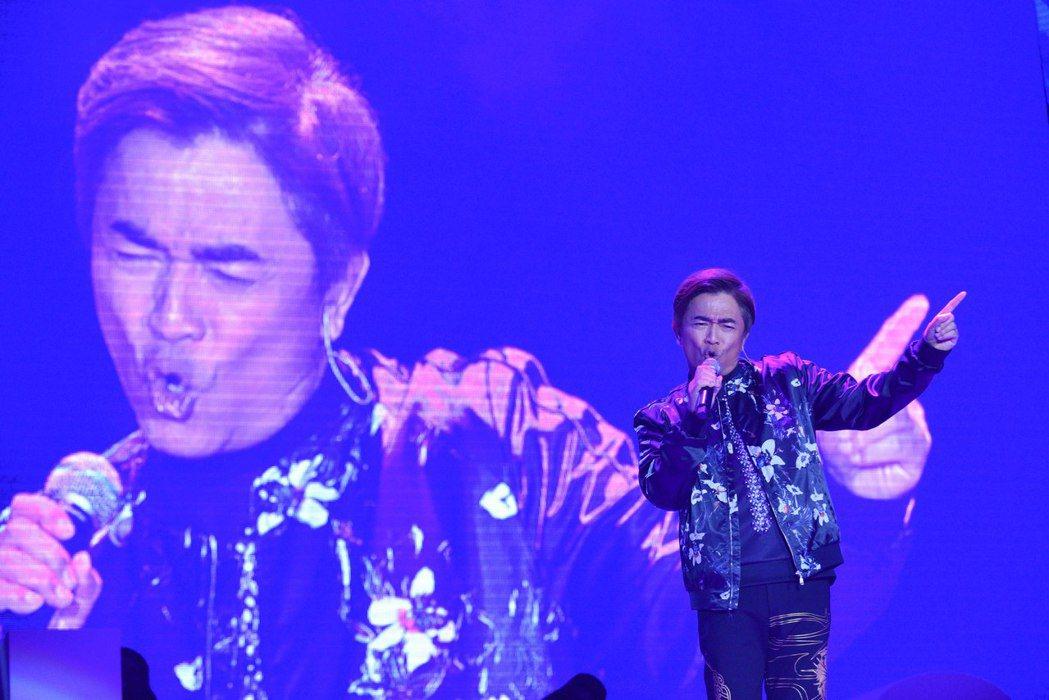 吳宗憲晚上演唱「笨小孩」。圖/藝起發光提供