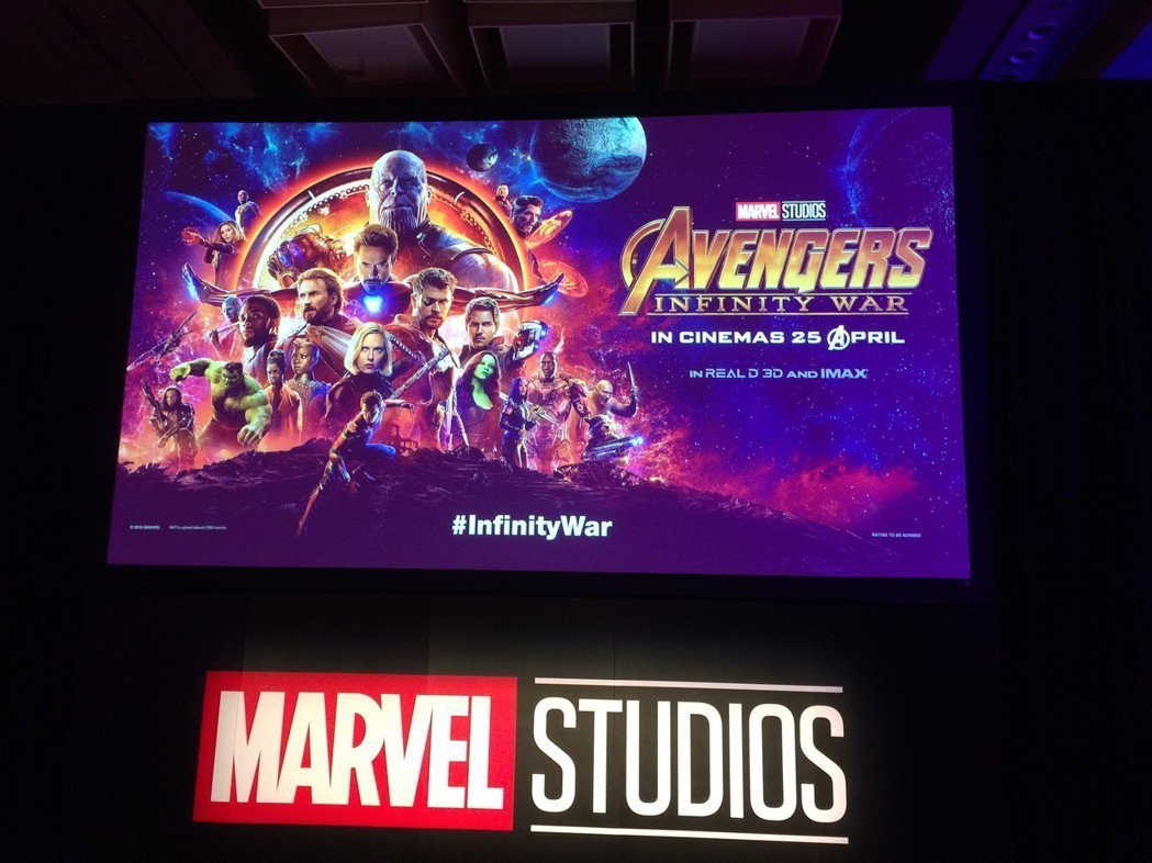「復仇者聯盟3:無限之戰」超級英雄大集結,陣容浩大。記者蘇詠智/攝影