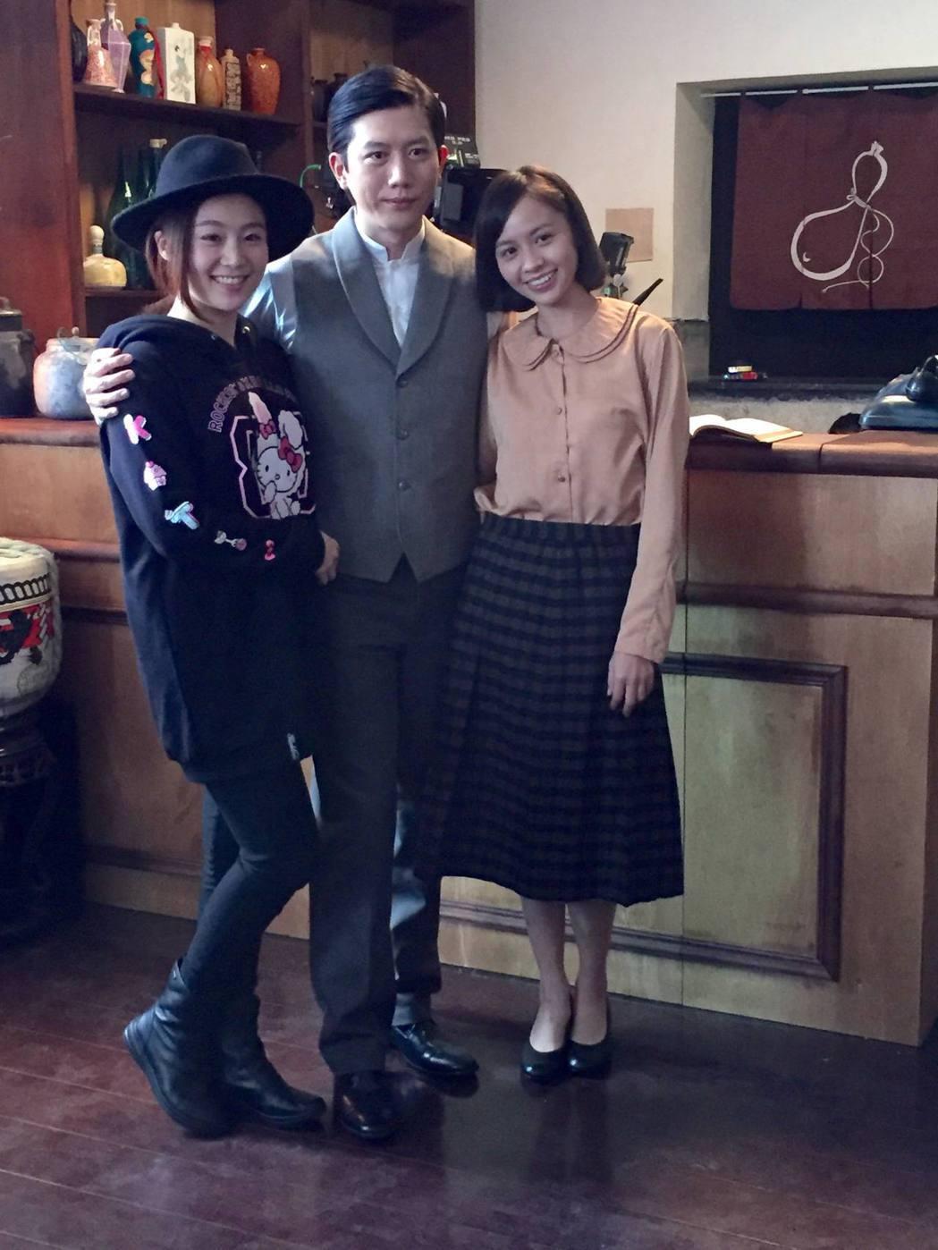 莫子儀演出「台北歌手」和楊小黎、黃姵嘉搭檔。圖/客台提供