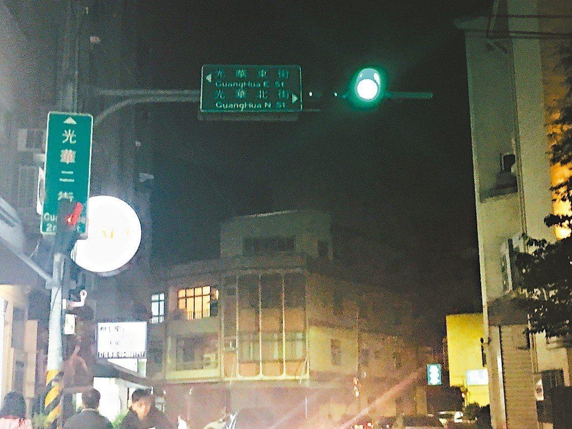 新竹市光華系列路名多條又相似,宛如迷宮,連新竹人都會迷路。 記者張雅婷/攝影