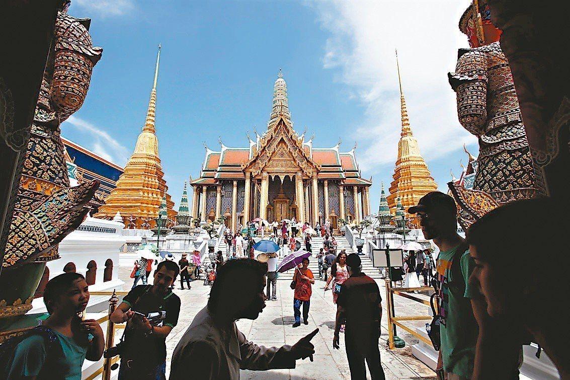 泰國觀光收入表現驚人。 路透