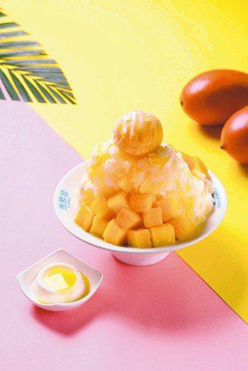 CNN推薦來台必吃,一天賣掉8000碗芒果冰神店的「思慕昔」在台北101是商場獨...
