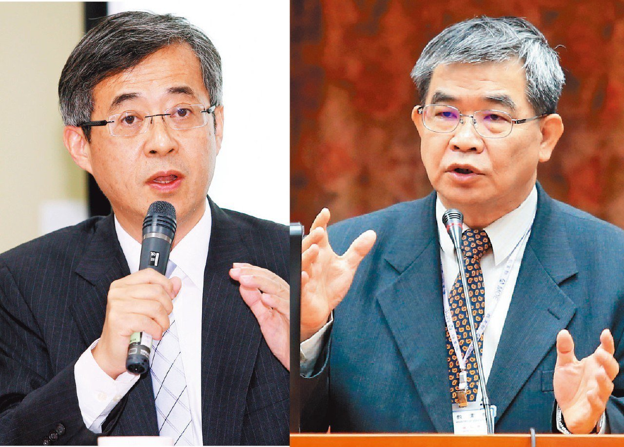 姚立德(左)、蔡清華(右)傳請辭教育部政務次長職。 圖/聯合報系資料照片