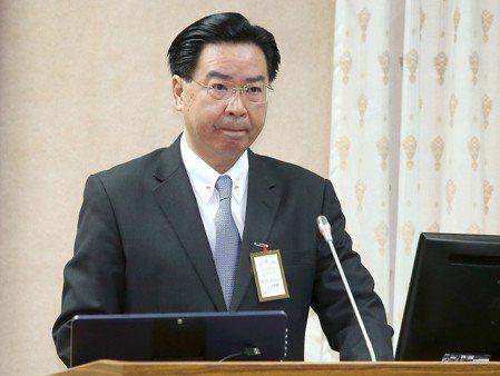 外交部長吳釗燮。聯合報系記者高彬原/攝影