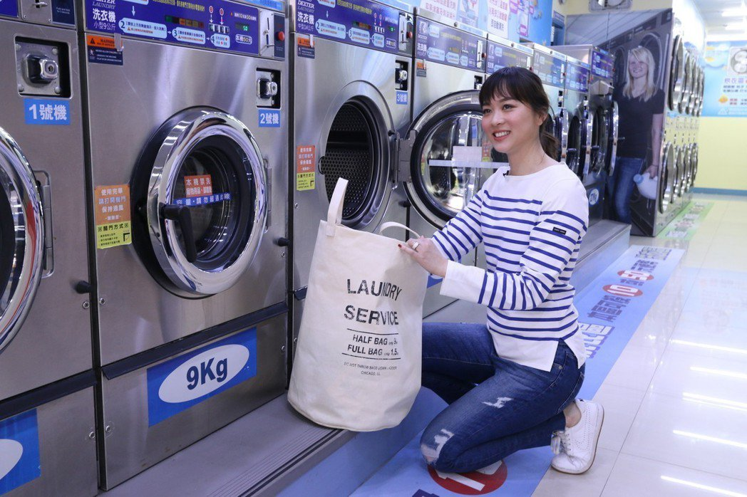 自助洗衣店不用請員工、管理簡易,成為創業熱門選擇。 億富/提供