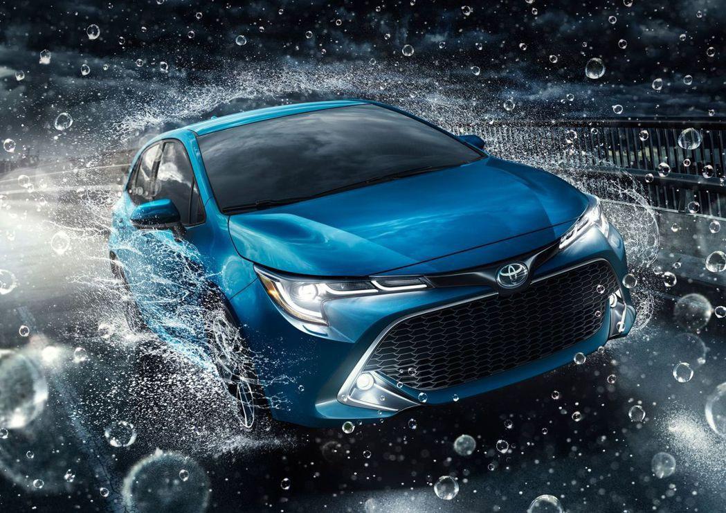 Corolla hatchback /Auris 是近期豐田熱門車款。 摘自Toyota