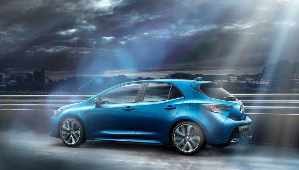 Corolla hatchback /Auris 。 摘自Toyota