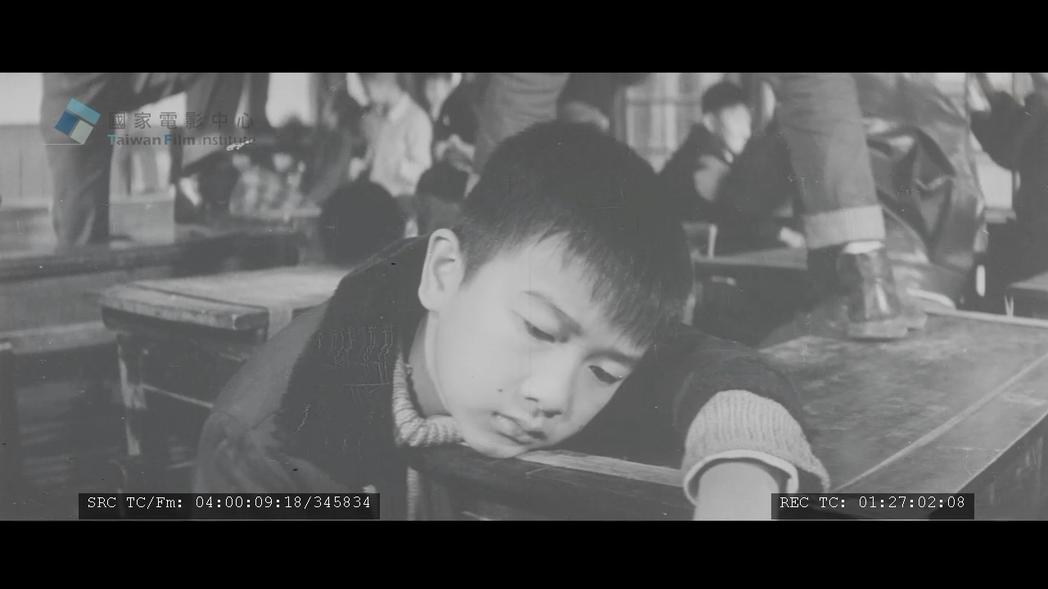 戲份甚重的童星俞健生,因片中敏感脆弱的演出,榮獲1970年第八屆金馬獎最佳童星獎。 圖/國家電影中心、TIDF提供