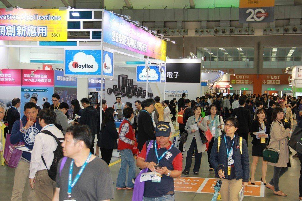 台北國際安全科技應用博覽會每年吸引許多國內外買家前往參觀,是台灣年度安全科技盛會...