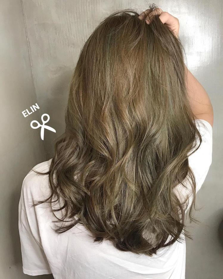髮型創作/Elin Siao。圖/StyleMap提供
