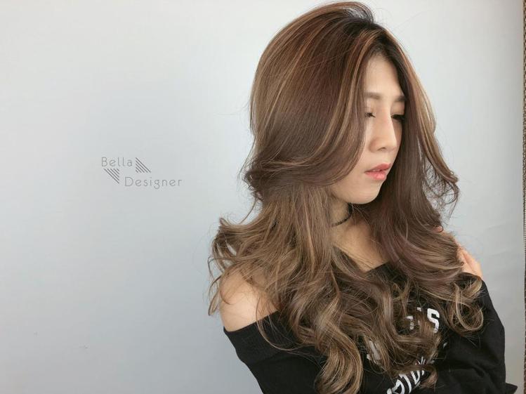 髮型創作/貝拉拉。圖/StyleMap提供