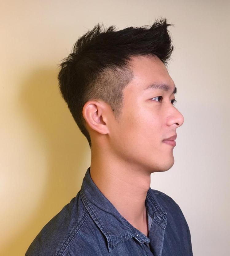 髮型創作/Adam。圖/StyleMap提供