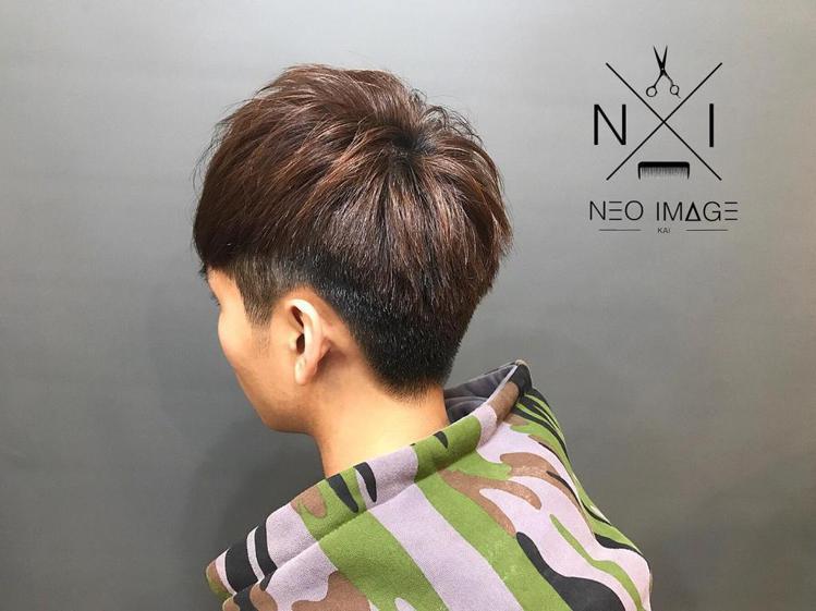 髮型創作/Kai Chen。圖/StyleMap提供