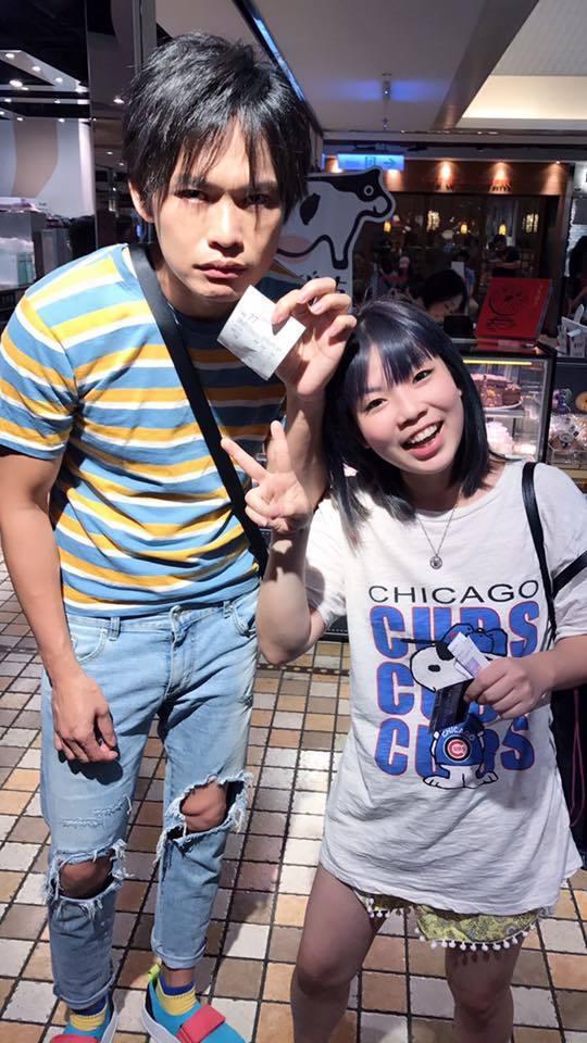 黃鐙輝(左)和萁萁感情甚篤。圖/摘自黃鐙輝臉書