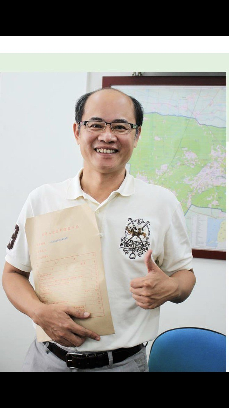 退選後的陳威成將專心於水利會務。記者蔡維斌/翻攝