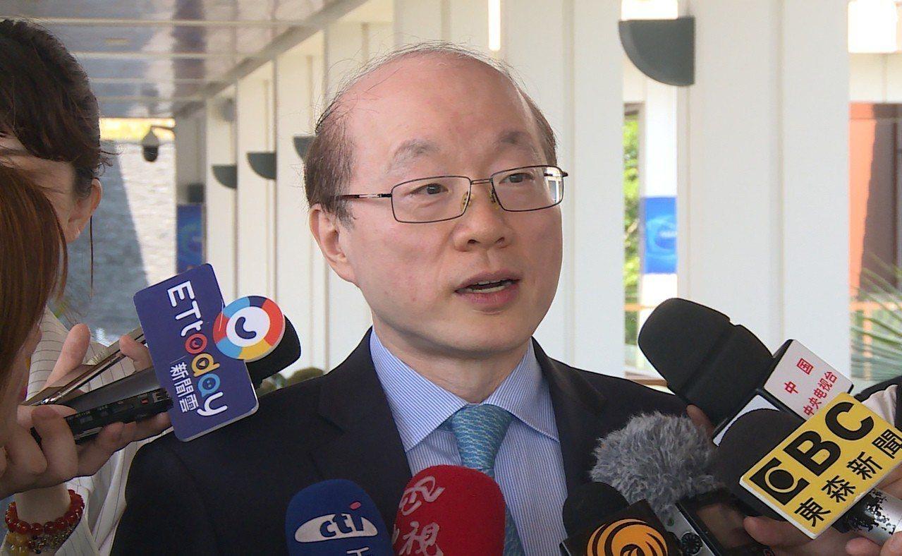 大陸國台辦主任劉結一。中央社資料照