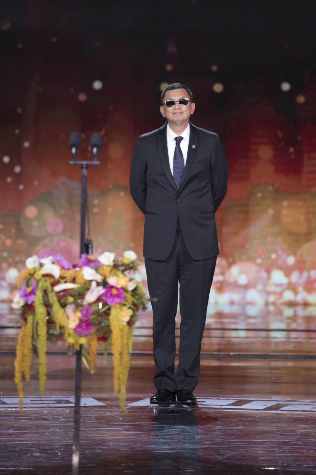 王家衛擔任第8屆北京國際電影節評委會主席,在開幕儀式上妙語如珠。圖/澤東提供