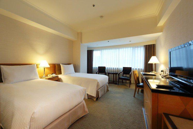 華泰大飯店集團祭出購買指定張數住宿券或餐券,就送升等券。圖/華泰大飯店集團提供