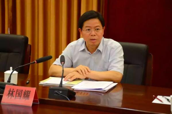 林國耀出任中紀委駐退役軍人事務部紀檢組首任組長。(長安街知識微信照片)