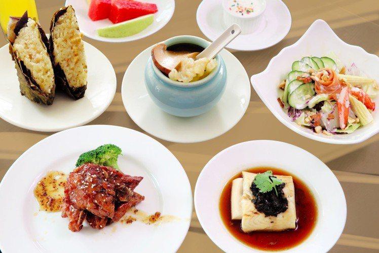 淡水亞太飯店推出春之饗套餐,每人最低520元起。圖/淡水亞太飯店提供