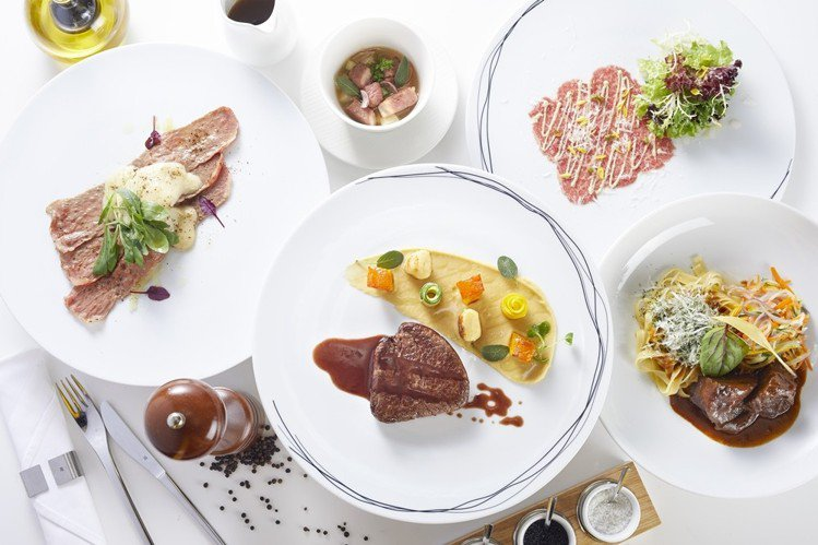 北投老爺酒店使用日本鹿兒島A4和牛做出系列春季料理,價格親民打破一般對日本和牛價...