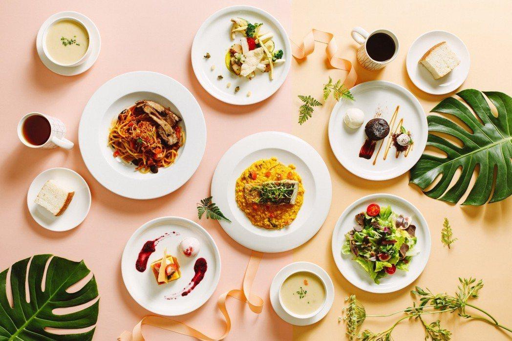 Port23餐廳推出春季限定雙人套餐。圖/Port23提供