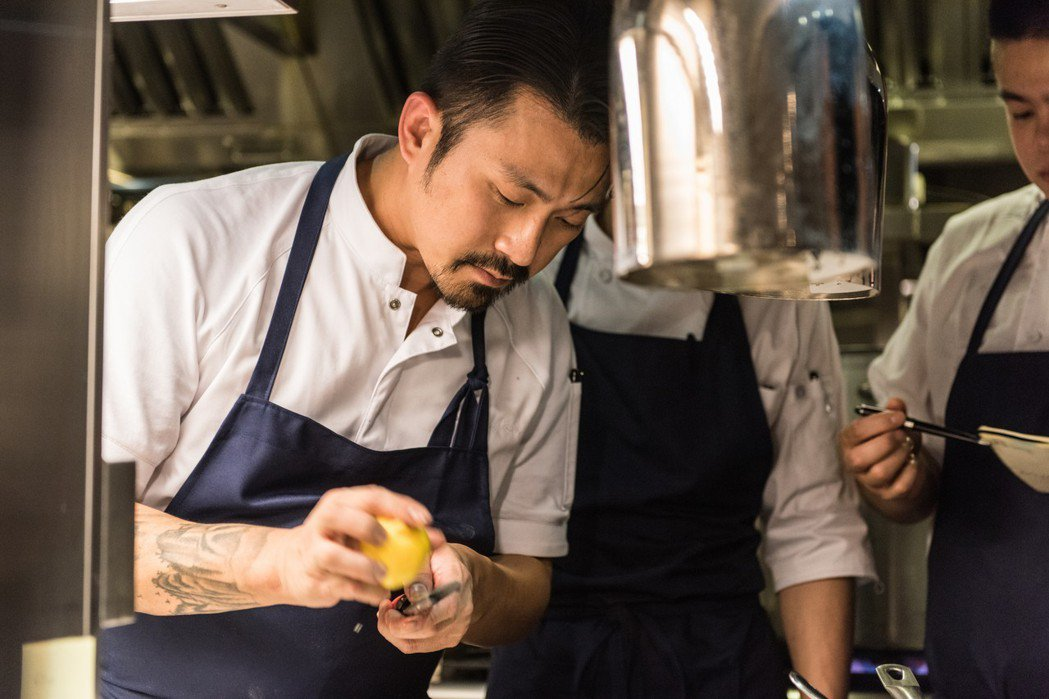 Chou Chou法式料理餐廳主廚林明健,也是今年「台北米其林指南」中,以Lon...