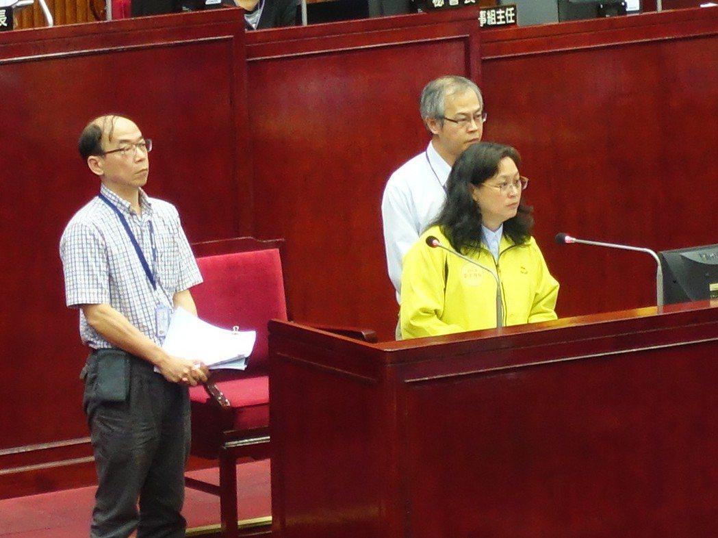 對於勞基法違法越多,罰得越少」的怪象,北市勞動局長賴香伶今在議場上坦言確實有疏失...