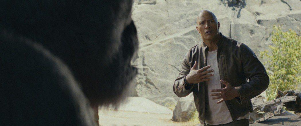 巨石強森主演的「毀滅大作戰」吸引不少粉絲進場。圖/華納兄弟影業提供