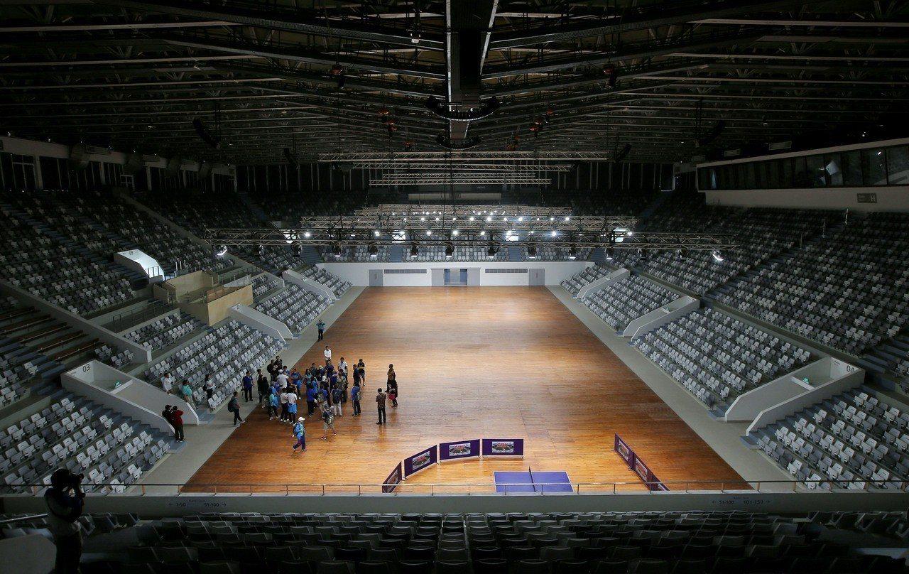雅加達亞運羽球、籃球2館。記者余承翰/攝影