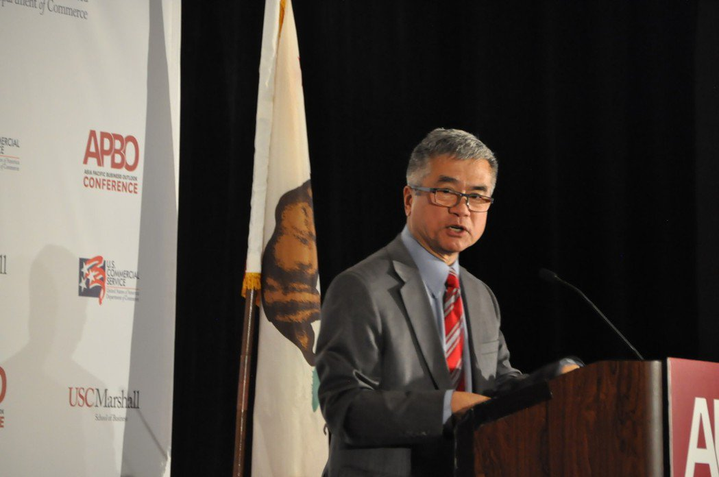 前美國駐北京大使、前美商務部部長駱家輝。 記者王若然攝影