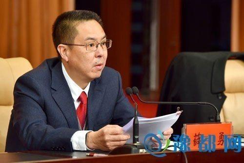 河南省沁陽市委書記薛勇。 圖/擷自豫都網
