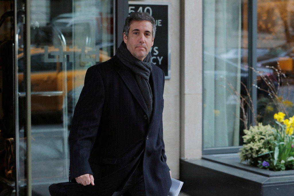 川普私人律師柯恩遭美國聯邦檢察官調查。路透