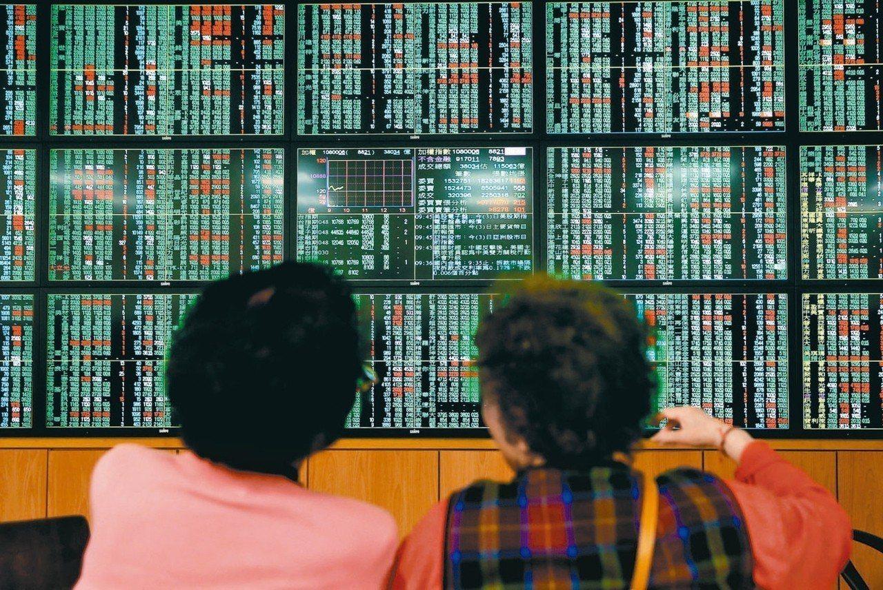 台指期今日震盪幅度大,吸引交易人短線操作。 報系資料照