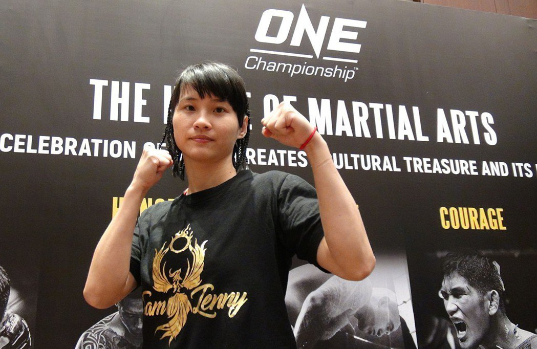 台灣首位女性職業綜合格鬥選手黃偵玲,將於20日在大馬尼拉地區巴賽城的「榮耀英雄」...