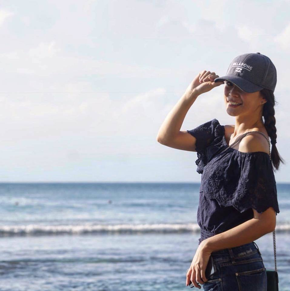 李燕到峇里島度假。 圖/擷自李小燕臉書