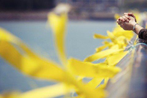 4月16日,轉眼間世越號的悲劇,又過去了一年。 圖/路透社
