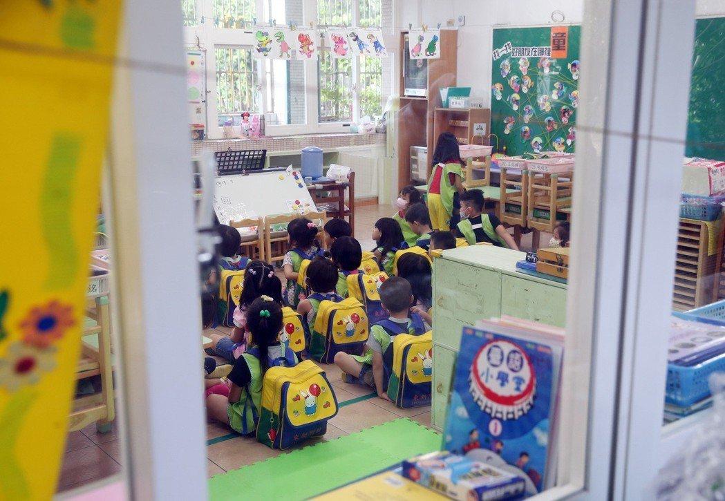 圖為台北市幼兒園。聯合報系資料照/記者曾吉松攝影