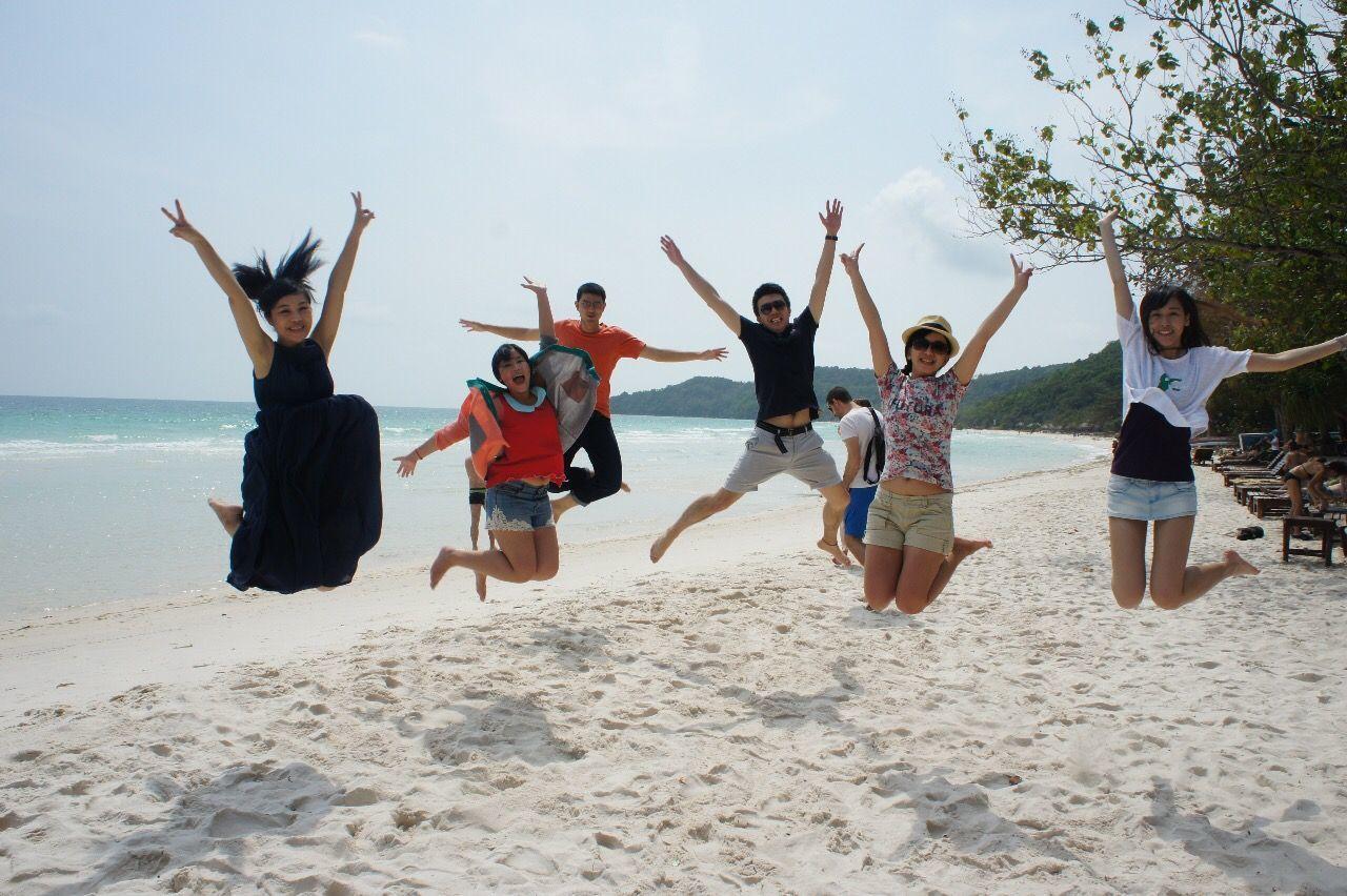 越南富國島的「星沙海灘」是當地秘境。記者吳雨潔/攝影