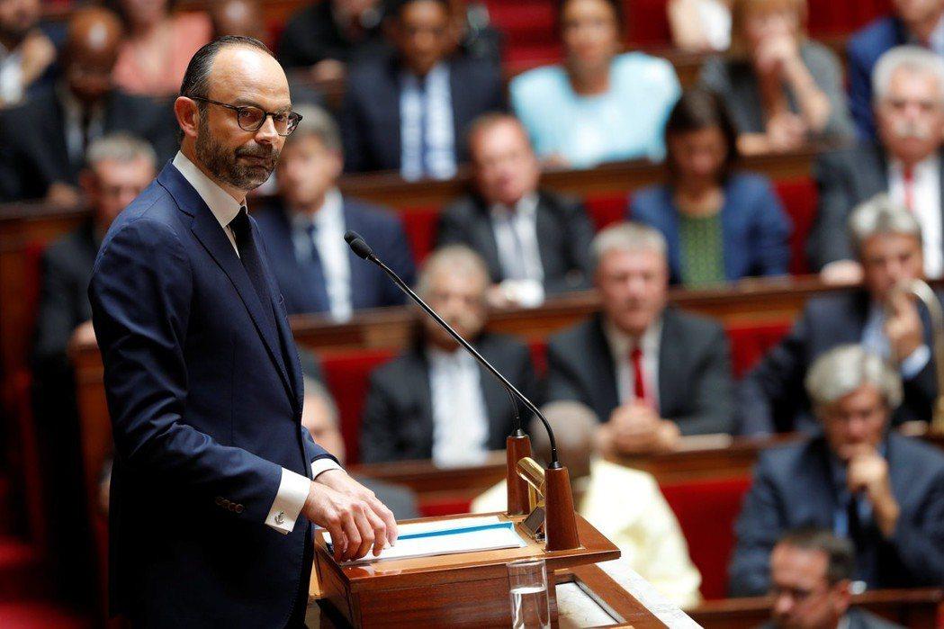 法國總理菲利普於4月4日宣布國會改革的「除塵行動」,內容包含大砍議會席次、引進比...