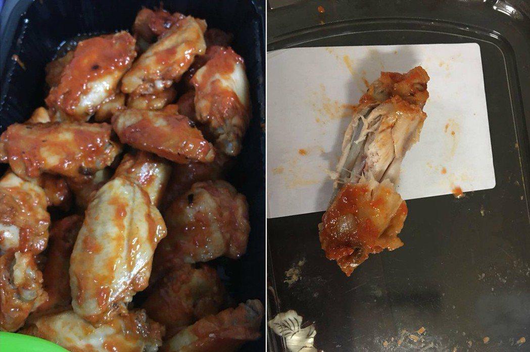 一名顧客表示到好市多購買一盒辣雞翅,打開來食用時竟發現一支雞翅疑似被啃過又放回去...