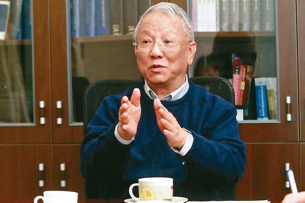 曾志朗堅持使用漢語拼音,扁政府時期當了一年多的教育部長後掛冠離去。 圖/聯合報系...