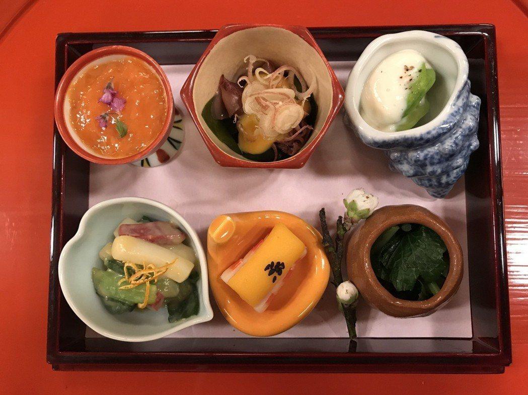 菊乃井精緻的懷石盛宴,從水質到調料都絲毫不馬虎。有行旅提供