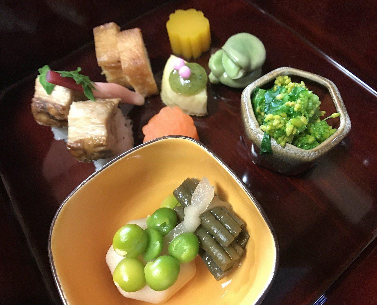喜歡蔬食的人,也有米其林一星的精進料理。有行旅提供