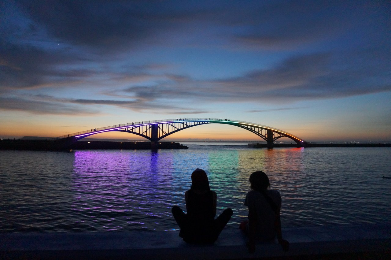 ▲澎湖西瀛虹橋。(圖/Tripbaa趣吧!亞洲自由行專家)